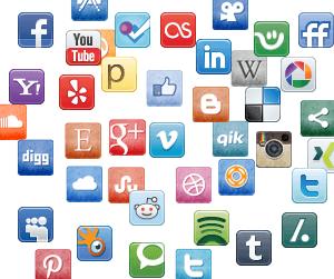 Social media and the night sky