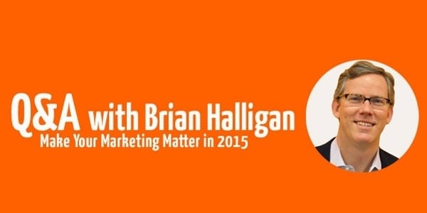 Six questions with Hubspot's Brian Halligan