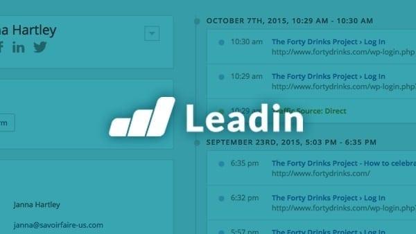 Announcing Leadin
