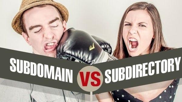 Subdomain or Subdirectory