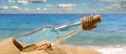 Message in a bottle - Communication
