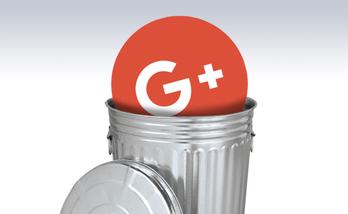 Remove G+ from your site