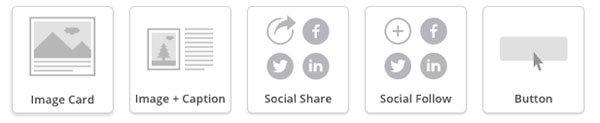 Mailchimp social icons