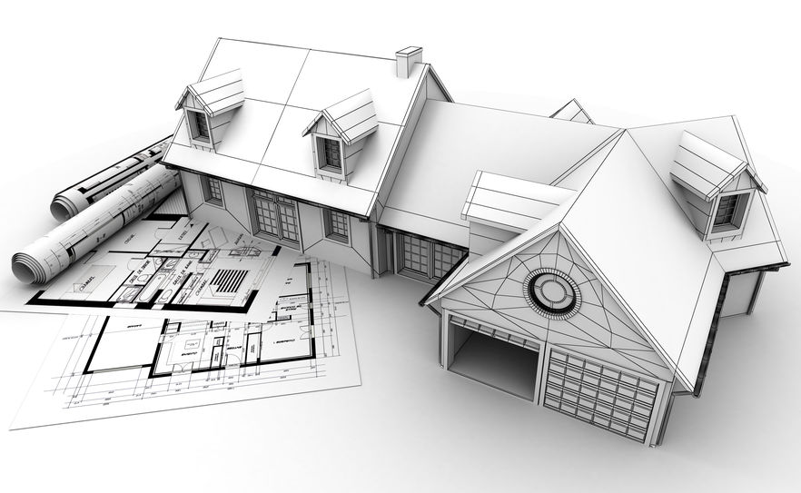 Building a website is like building a house